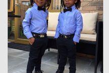 Gêmeos de azul