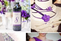 Colores de boda púrpura