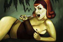 ghoulish-pinups