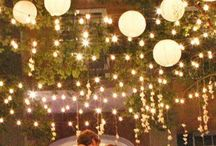 Wedding lighting and decoration ideas