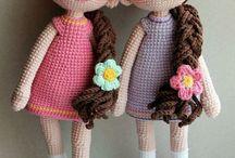 Bonecas de crochê