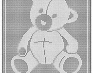 baby filet crochet