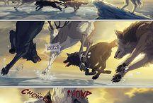 Wolf komix