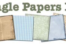 papel scrapbook