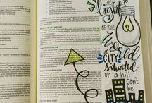 Bible journaling ilustrate