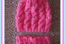 ruční práce pletení