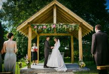 Cornwall Wedding Venue - Outside Ceremony Space / Outside ceremony spaces in Cornish Wedding Venue In Bude.