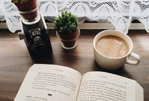 A coffee and a book