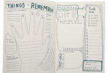 Agendas bullets journal planner