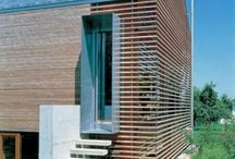 timber cladding & log