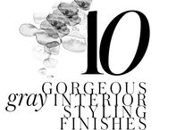 10 GORGEOUS SHADES OF GRAY