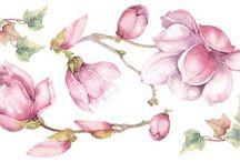 Decoupagem  Flores