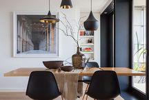 Żyrandol nad stół