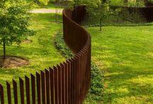 Zaun Nachbarn