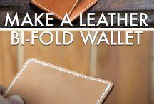 craft wallete bi-fold