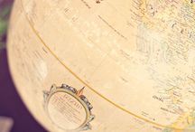 I love world globes and maps! / by Betty Marlar