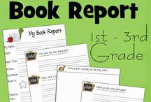 Homeschool: Book Reports