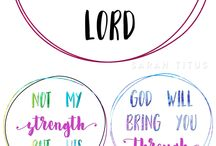 Lord, My Strength