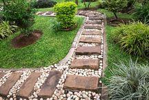 vialetto giardino
