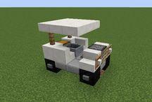 Minecraft járművek