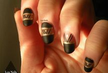 LouNails / tableau regroupant mes nail art...
