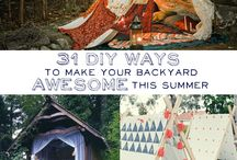 Outdoor camp ideas / by Teresa Patterson