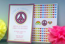 peace & rainbows party