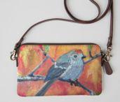 Art to wear / Art purses, shoe art wearable art