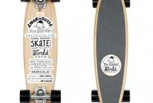 Longbording and Skatebording