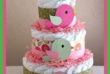 Diaper cakes / by Heather Ray