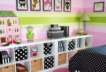 Girly room decoration
