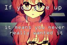 ✧ Anime Quotes ✧