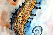 denizatı/seahorse
