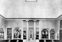 Vecchi allestimenti. / Uno sguardo a com'era la Pinacoteca nel corso degli anni...