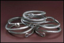 Metal-working: historical rings etc. / Rings, bracelets, arm-rings and torques from archaeology.