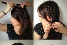 Peinado trenzado