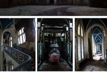 •Abandoned places•