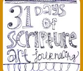 BIBLE Art Journal / by Gina Clay