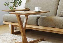 sillones y mesas auxiliar