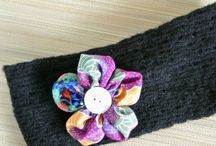 Suffolk Puff Flower Creations by AngelCraftsShop / These are the latest handmade Suffolk Puff Flower Hairclips, Hairbands and Hairties from my online shop, AngelCraftsShop.com, 50% of all sales goes to support special needs orphans. Go to angelcraftsshop.com to find out more about the Orphan of the Month.