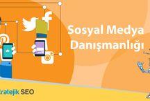 Sosyal Medya Danışmanlığı / Sosyal Medya Pazarlama Fikirlerinin Sunulması benzeri çalışmaları içermektedir.