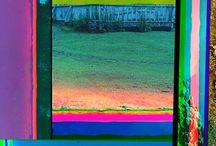 inspiratie groot neon schilderij en visuals