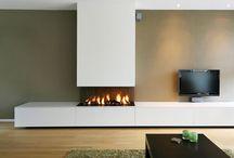 Openhaard meubel