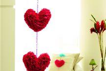 Corações - Inspirações!