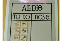 Chore chart ideas / by Alexsandra Arianna