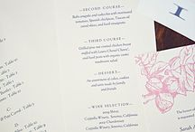 e.m.papers in real life / Images that I come across or that are sent to me of e.m.papers printable wedding stationery in real-life weddings (or the occasional photo shoot)