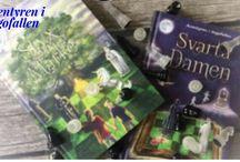 Boktrailers / Här visar jag de boktrailers jag gjort till olika böcker jag läst.