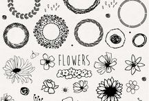 Craft: DIY: Hand drawn doodles
