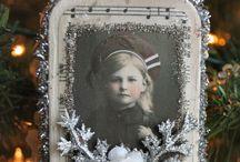 vintage julepynt
