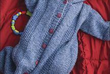 вязаная одежда детям